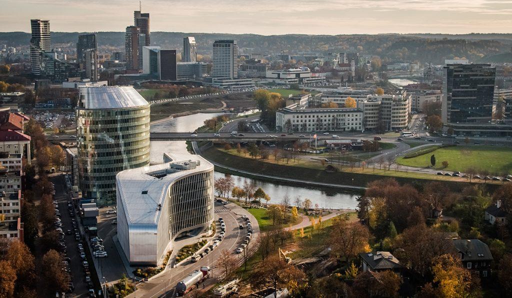 Vilnius green hall