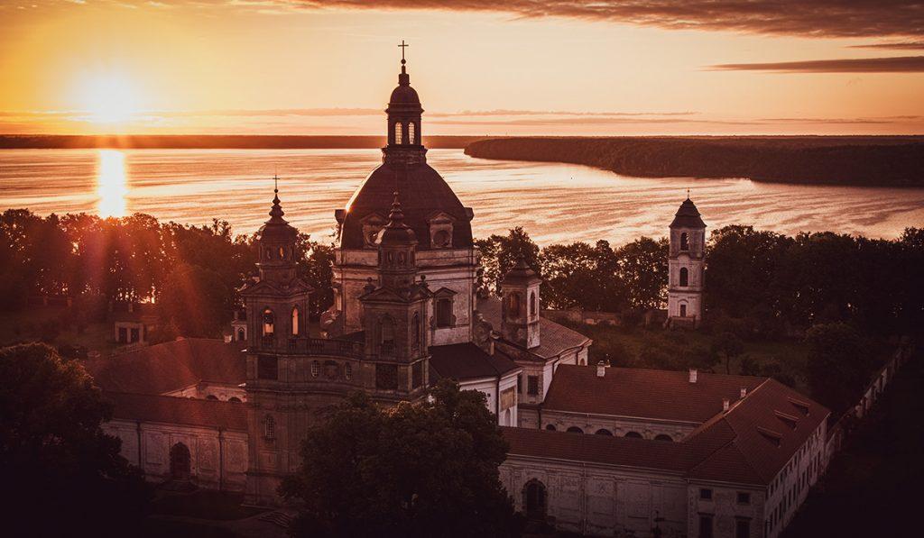 pažaislio vienuolynas ryte